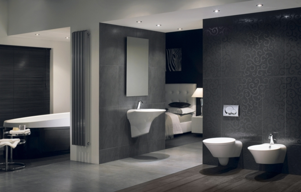 Moderne badezimmermöbel grau  Badezimmer Grau Design – edgetags.info