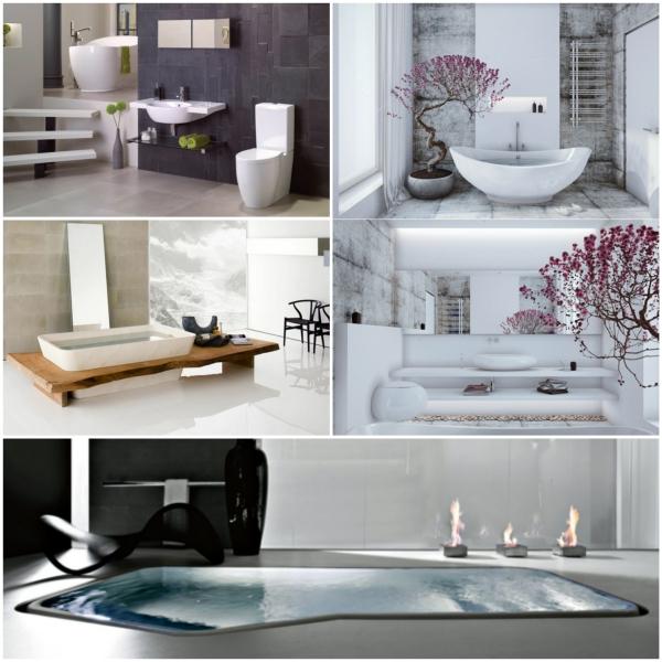 Welche Sind Die Neusten Tendenzen In Sachen Designer Badezimmer |  Badeinrichtung Ideen ...