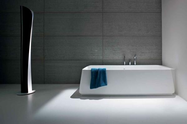 designer-badezimmer minimalistisches design grau