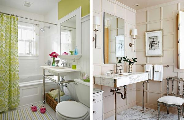 Designer Badezimmer Naturfarben Marmor