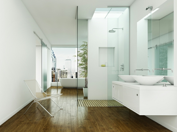 Badezimmer Schlafzimmer Kombinieren: Artikel Badezimmer Und ... Bad Design Geometrische Asthetik Giano Serie Rexa Design
