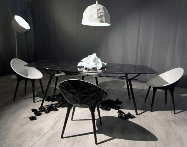 designer lampen designer sessel geometrische oberfläche Diesel Foscarini