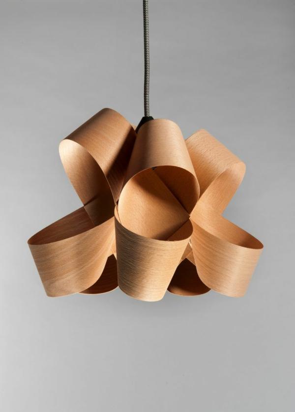 designer leuchten aus Furnier zukunft des materials