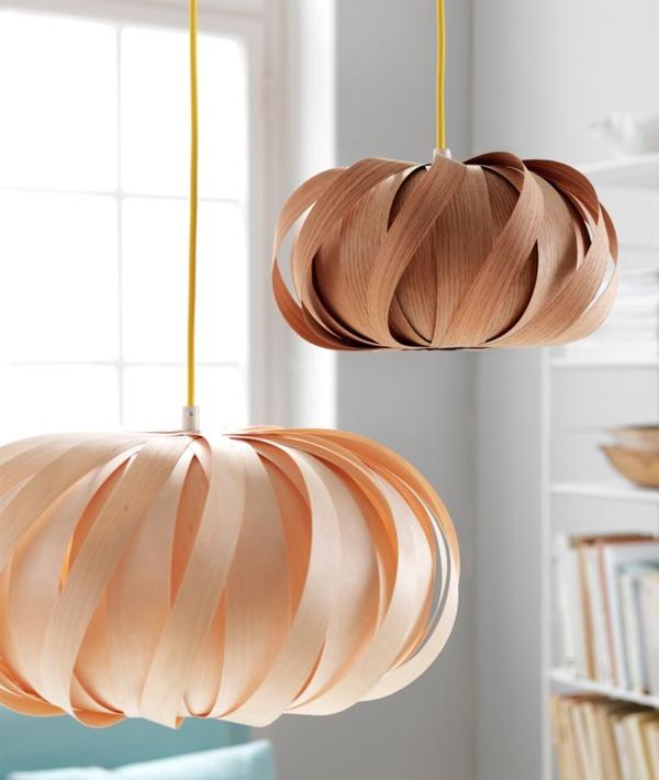 designer möbel aus Furnier zukunft des materials leuchten
