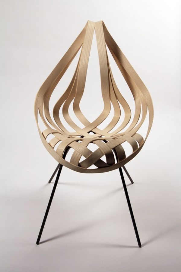 designer möbel aus Furnier zukunft des materials stuhl design