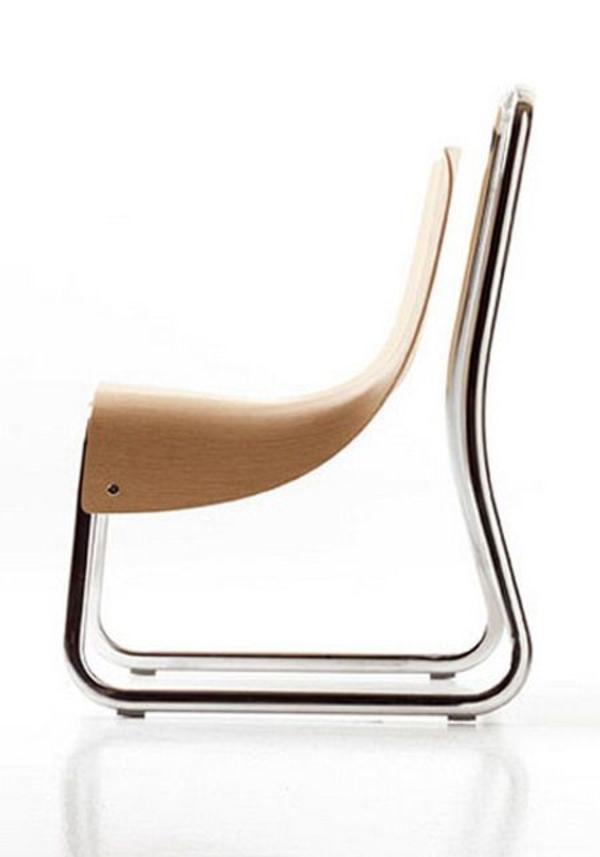 designer möbel aus Furnier zukunft des materials  stuhl