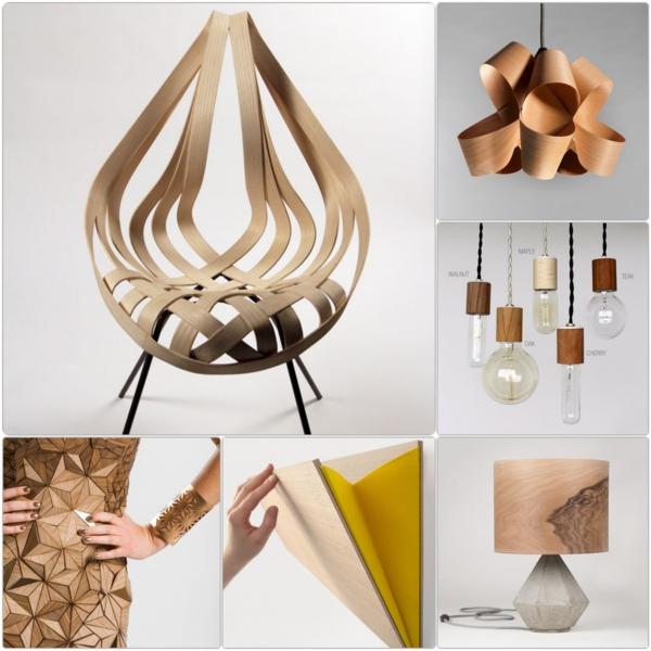 designer möbel aus Furnier zukunft des materials