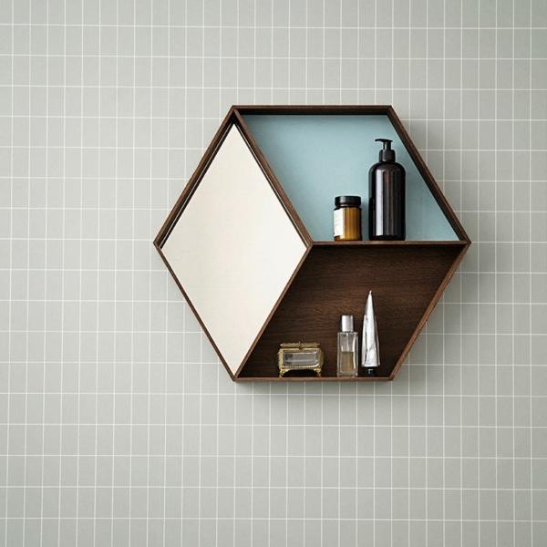 designer tapeten rechtecken minimalistisch