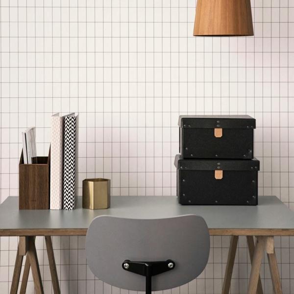 Ferm Living Tapete Muster : Minimalistische Designer Tapeten f?r ein anspruchsvolles, modernes