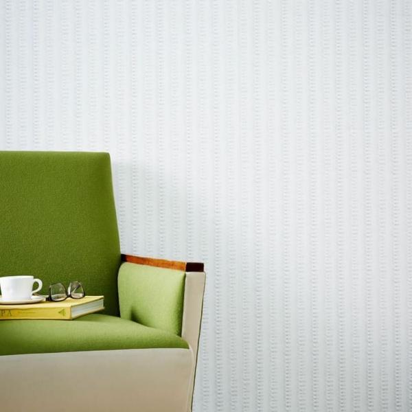 designer tapeten weiß relief
