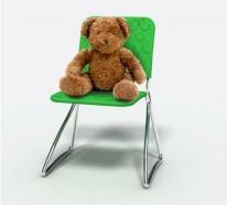 Stuhl Design: Dress-me Chair von Baita Design Studio