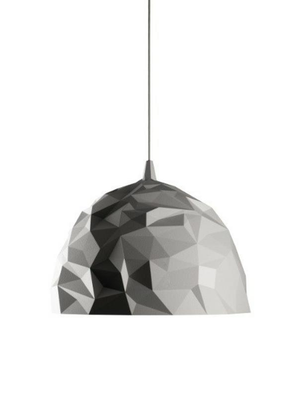 designer lampen diesel foscarini rock pendelleuchte weiß design