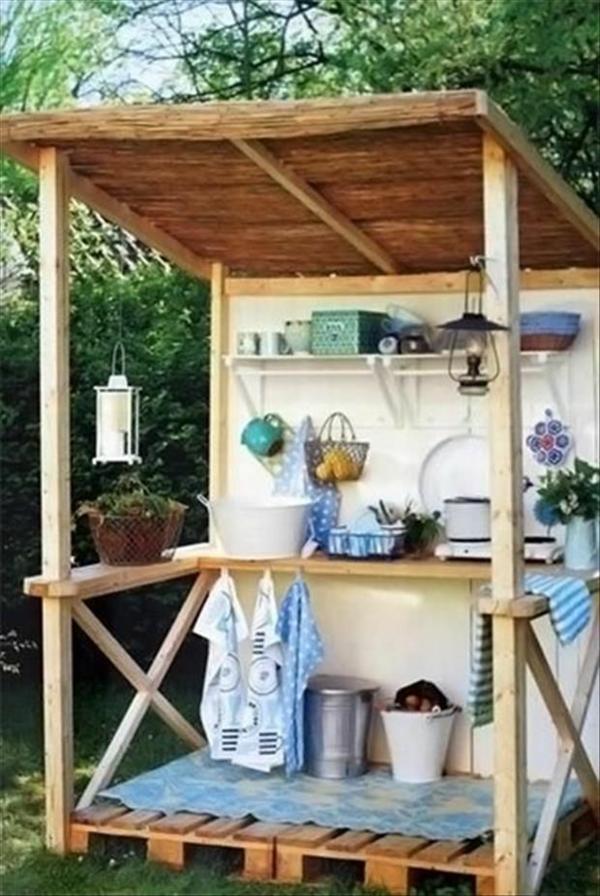 diy Gartenmöbel aus europaletten gartenzubehör