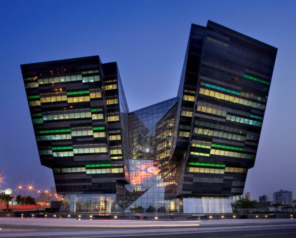 doha katar moderne architektur surreal