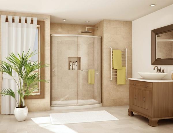 duschkabine modern retro antik stil