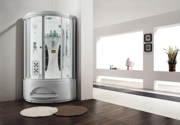 duschkabine ultramodern duschpaneele regendusche