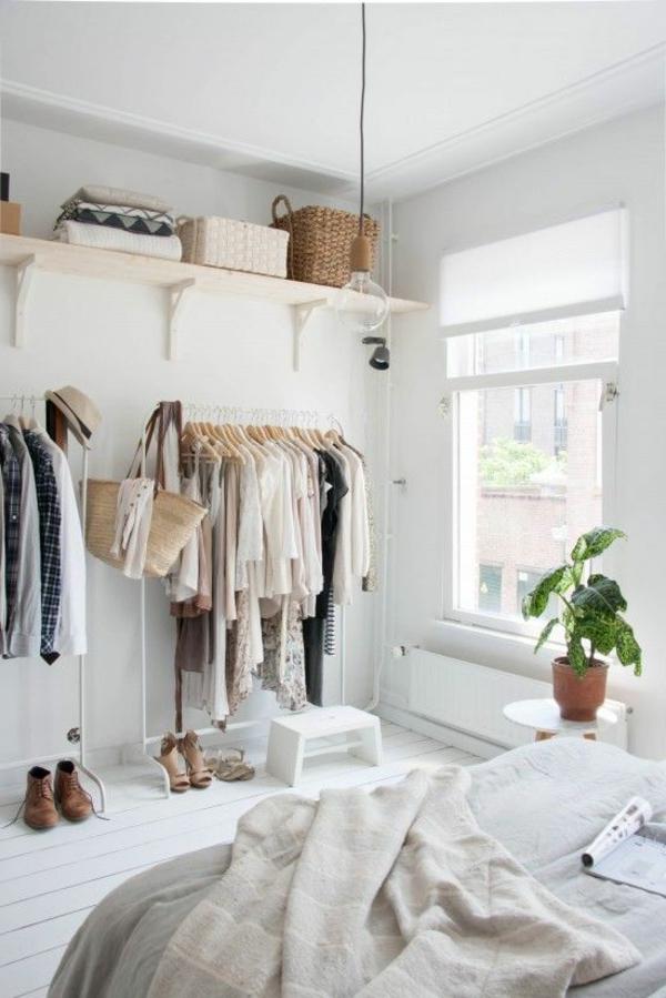 Einrichtungsideen Kleines Schlafzimmer Kleidung Ausstellen