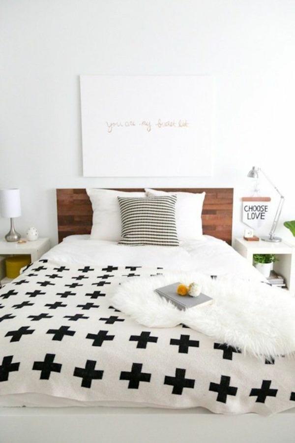einrichtungstipps kleines schlafzimmer dekorieren weiß