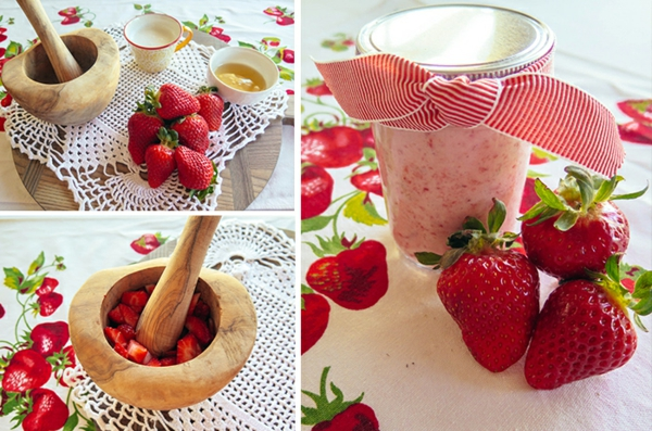erdbeeren gesund gesichtsmaske selber machen
