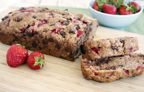 erdbeeren gesund haus gemachter erdbeerkuchen