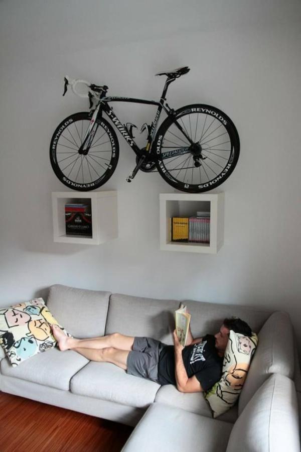fahrrad ständer idee praktisch wandtegale