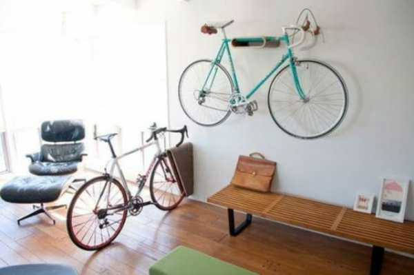 fahrrad ständer wandhalterung schöne wohnideen