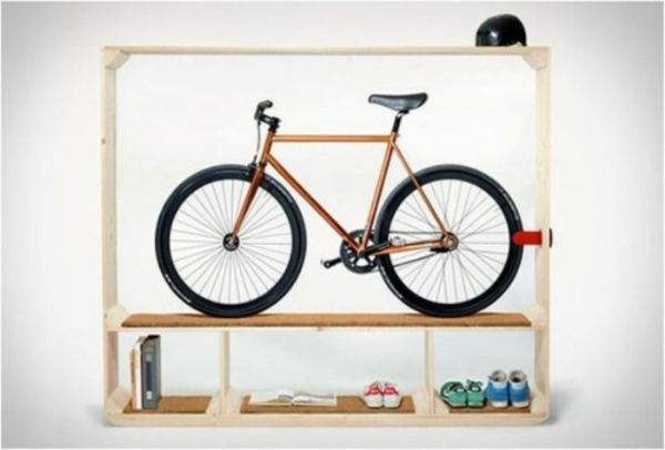 fahrrad ständer kreative ideen regale