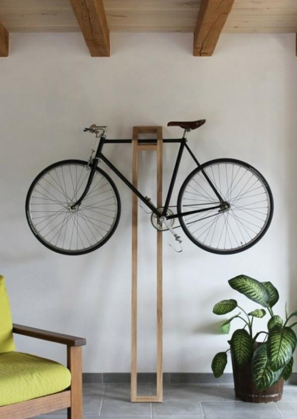 fahrrad ständer kreative wohnideen holz design