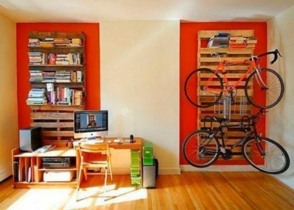 fahrrad wandhalterung design zuhause regale