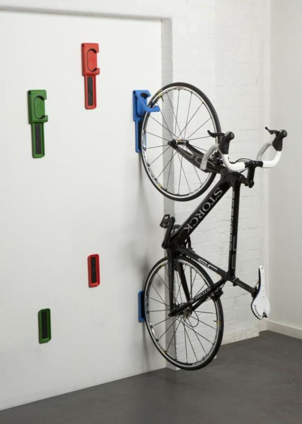 fahrrad wandhalterung attraktiv schöne wohnideen