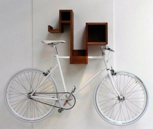 fahrrad wandhalterung zuhause kompakt funktional