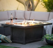 Offene Feuerstelle auf dem Tisch – der ultimative Hingucker in Ihrem Zuhause