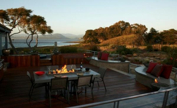 moderne ethanol feuerstelle sorgt f r romantik. Black Bedroom Furniture Sets. Home Design Ideas