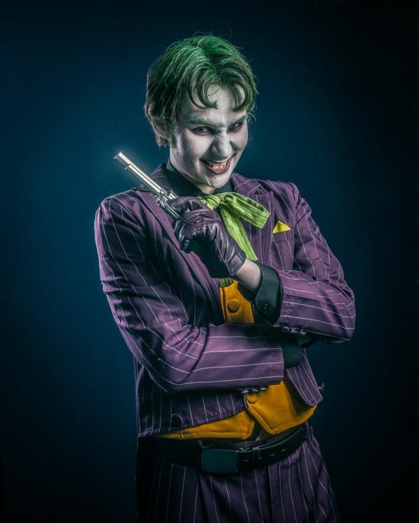 superhelden comicfig joker