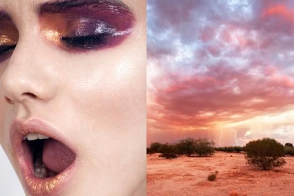 kunst fotografie makeup gewitter