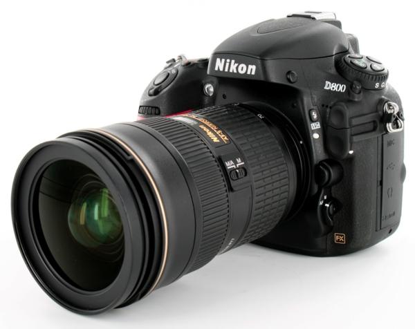 foto kamera nikon professionell großes objektiv