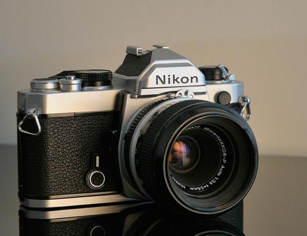 fotokamera nikon retro professionell