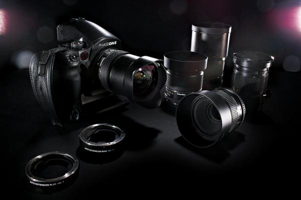 fotokamera professionell objektive set