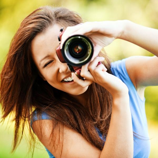fotokamera professionell spaß fotografieren