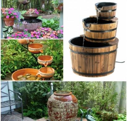 Gartenbrunnen selber bauen: 17 einfache und originelle Ideen zur ...
