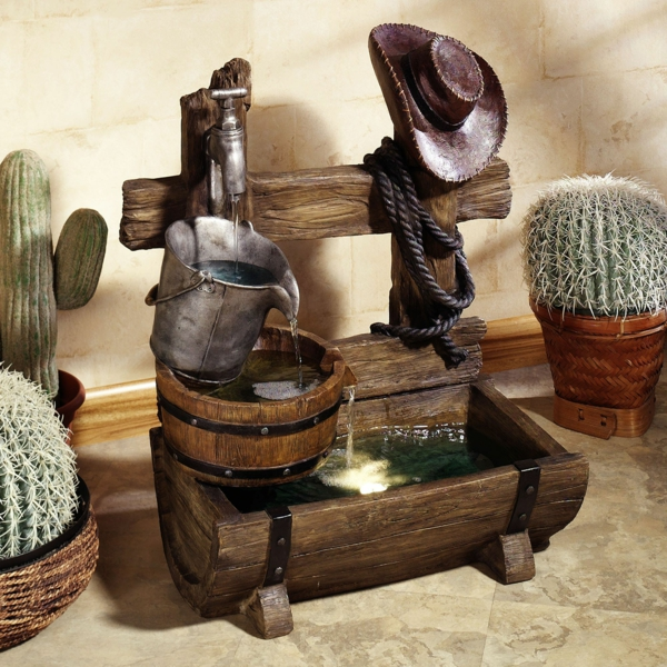 wie sie einen originellen gartenbrunnen selber bauen k nnen. Black Bedroom Furniture Sets. Home Design Ideas