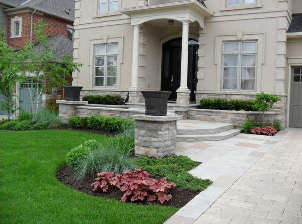 Gartendesign Kleinen Vorgarten Gestalten Vorgartengestaltung