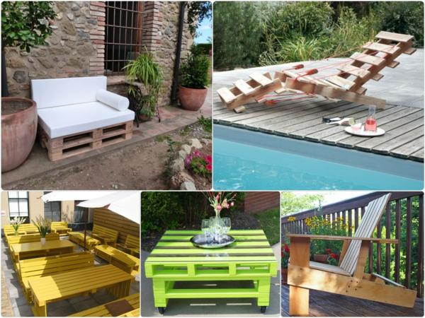 Ideen Fur Balkonmobel : Gartenmöbel aus Paletten inspirierende DIY Möbel für Ihren Garten