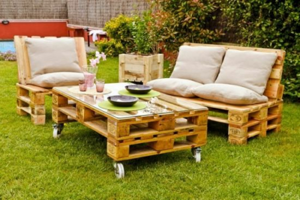 Gartenmobel Aus Paletten Inspirierende Diy Mobel Fur Ihren Garten