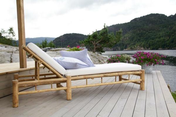 Zebra Axis Gartenmobel : Bambus und Holz kombinieren