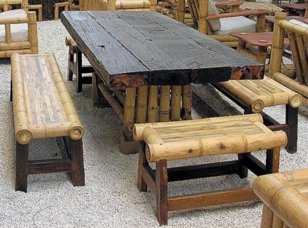 Gartenmobel Holz Polen : Gartenmöbel Luxus nachhaltige Außenmöbel aus Bambus