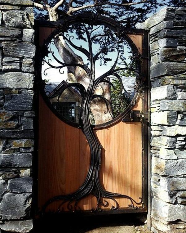 Gartent ren designs f r eine zauberhafte gartengestaltung - Gartenturen holz ...