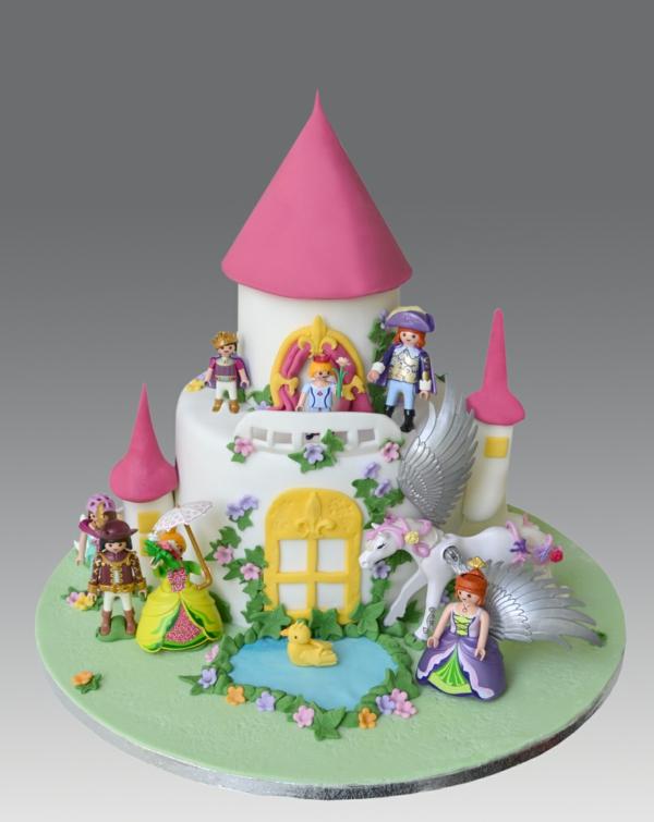 geburtstagskuchen kindergeburtstag schloss märchen