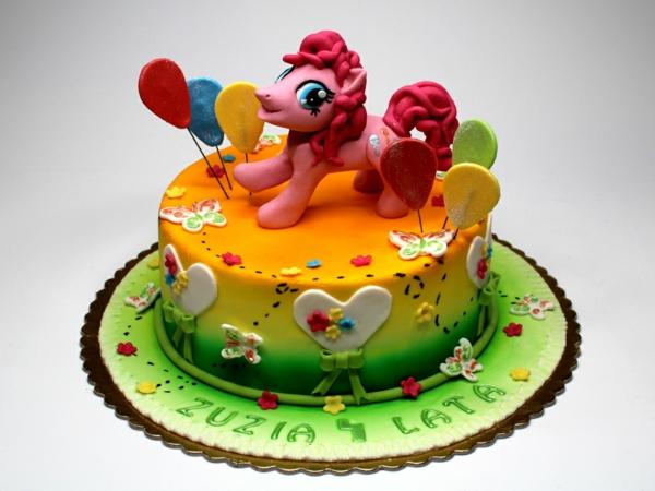 geburtstagstorte kindergeburtstag torte pony