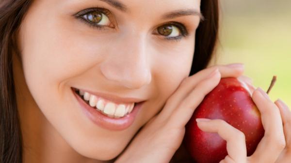 gesichtsmaske selber machen reife äpfel